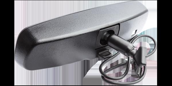 Comtruk rear view camera display