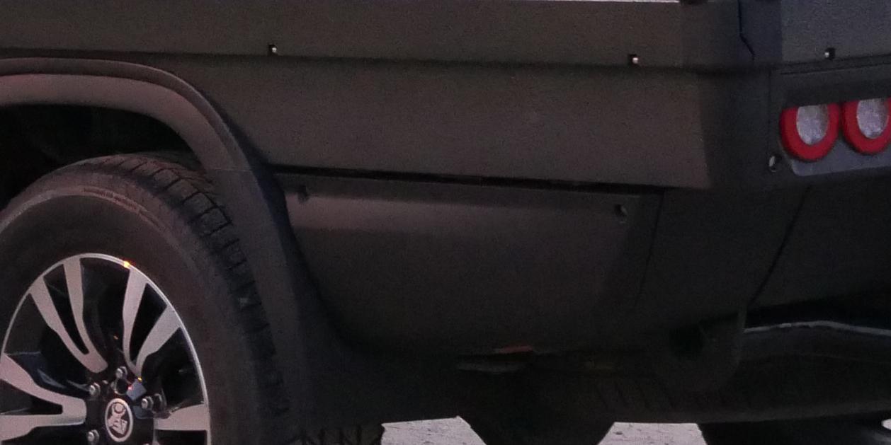 Comtruk optional storage drawer for Sport Utility Bed