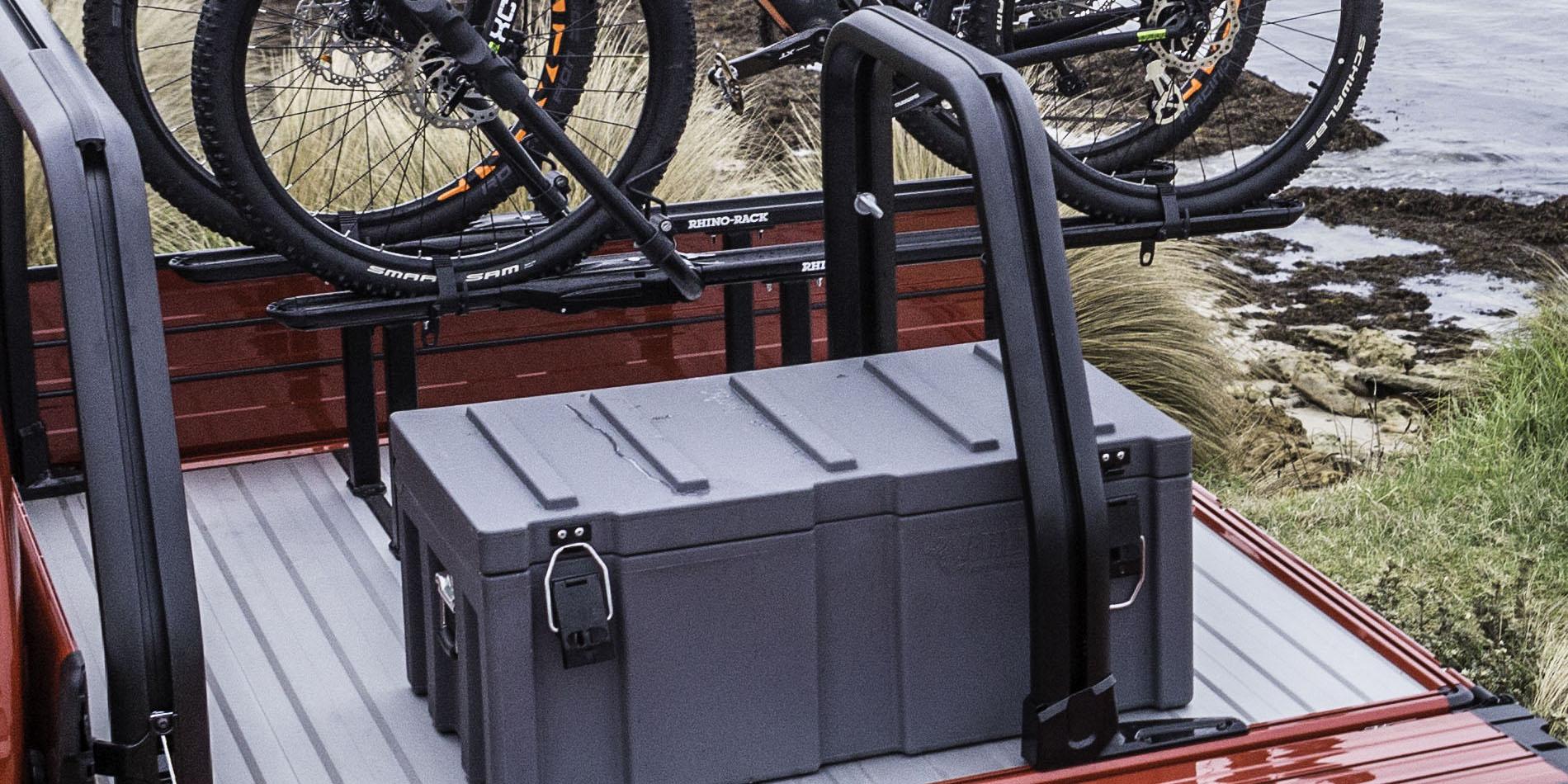 Comtruk adjustable half aluminium rack