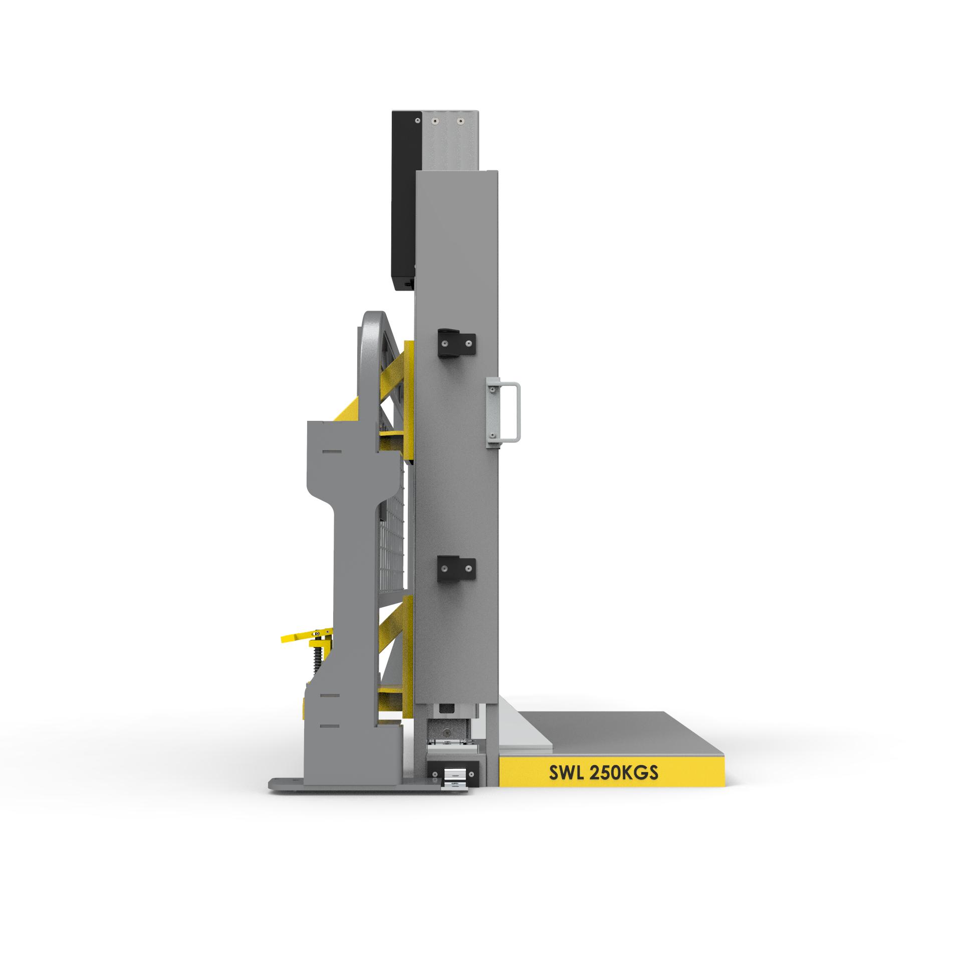 EZ Lift-N-Load side lifter profile