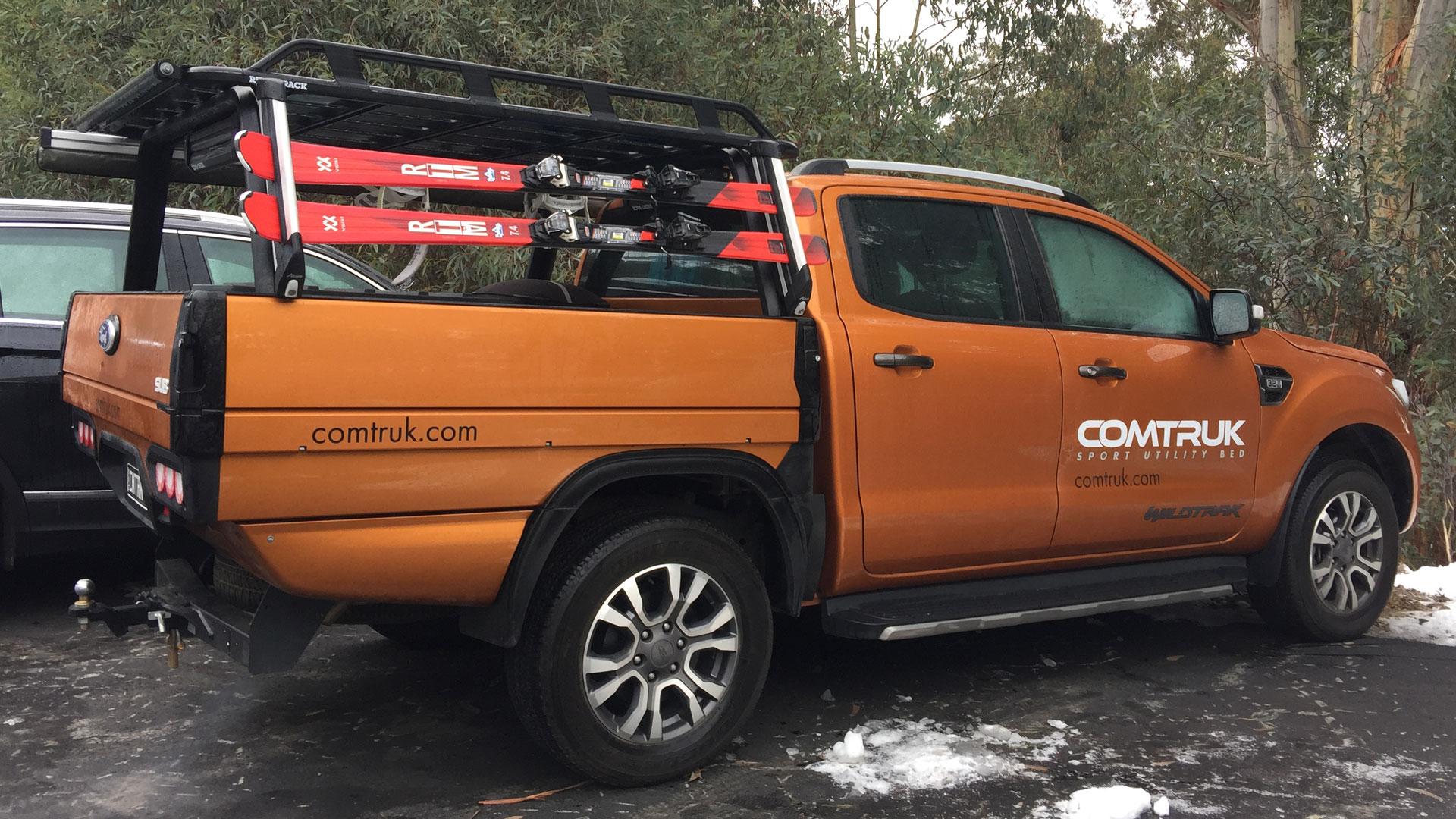 Ford Ranger SUB alloy tray skiing